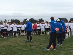Record Numbers at Albion Pros Tryouts