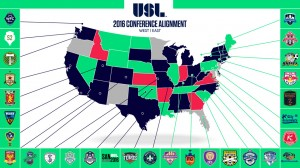 USL Announces 2016 Conference Alignment and Season Format