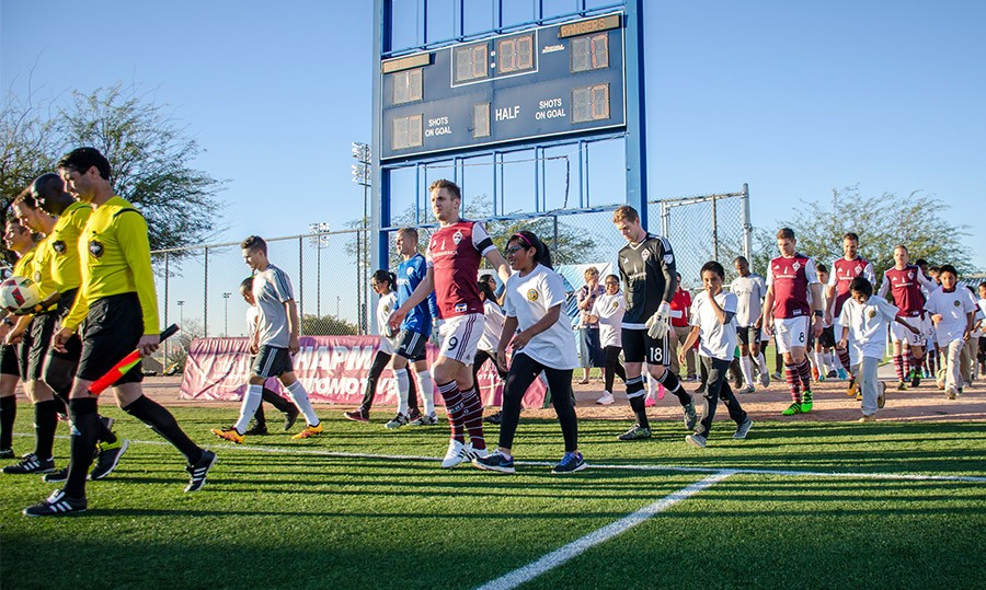 Desert Diamond Cup: First Set Of Matches In The Books