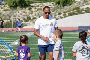 NC Battalion Teams Up with SDSC and TopSoccer