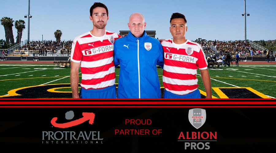 Albion Soccer Club Pros Name Protravel International  San Diego as its Official Travel Agency