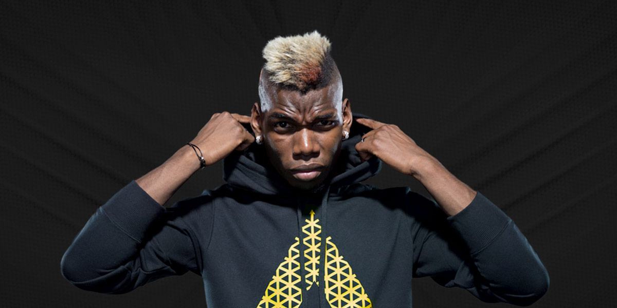 Paul Pogba Joins Team Adidas