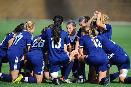 NCAA WOMENS SOCCER:  NOV 09 2014 South Atlantic Women's Soccer Championships - Wingate vs Lenoir-Rhyne