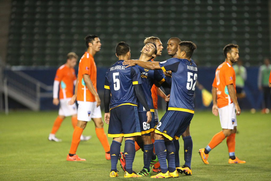LA Galaxy II, OC Blues Split First 405 Derby of Season