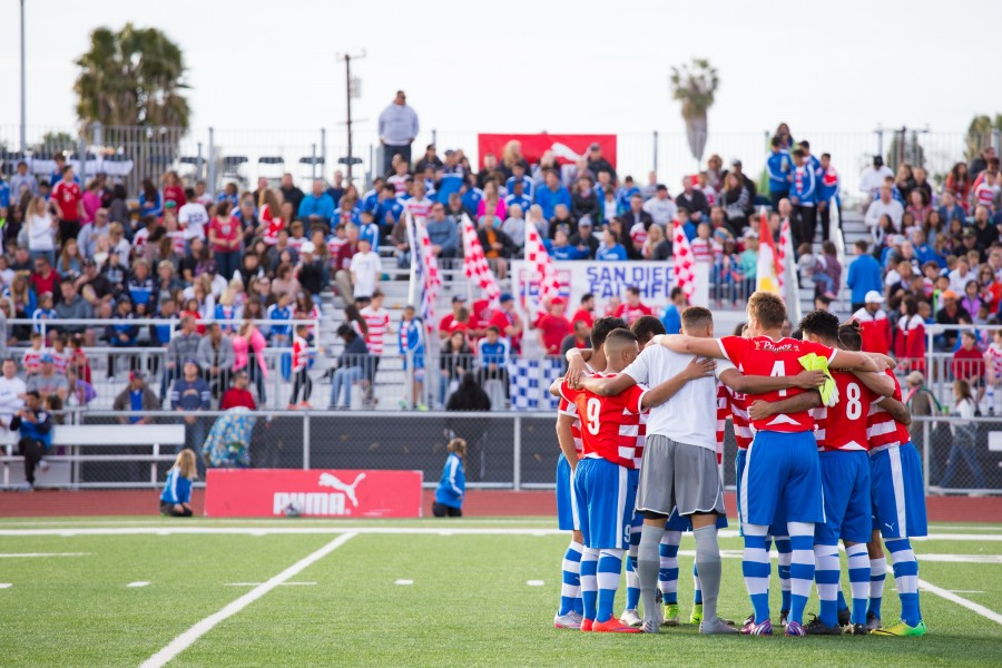 San Diego's Albion Pros Host Supporters Party at TapRoom