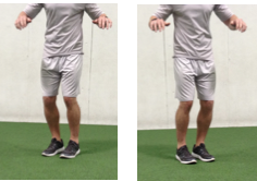 Hip Switch Move the feet from 10 o'clock to 2 o'clock using the hips. Upper body stays stationary