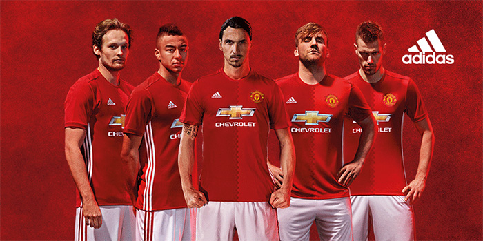 Manchester United Home 2016/17 Home Kit Revealed