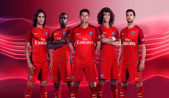 Paris Saint-Germain Away Kit 16/17 Revealed
