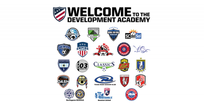 U.S. Soccer Announces Final 22 Clubs For Girls Development Academy
