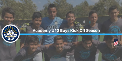 Chula Vista FC Academy U12 Boys Kick Off Season