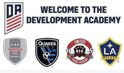 San Diego's Albion SC to Join U.S. Soccer's Girls' Development Academy