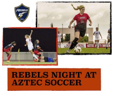 Rebels Night at San Diego State