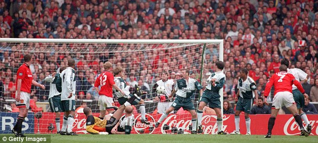 Cantona's Wembley winner, one of the great FA Cup Final goals