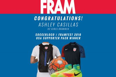 FRAMfest 2016 USA Supporter Prize Pack Winner!