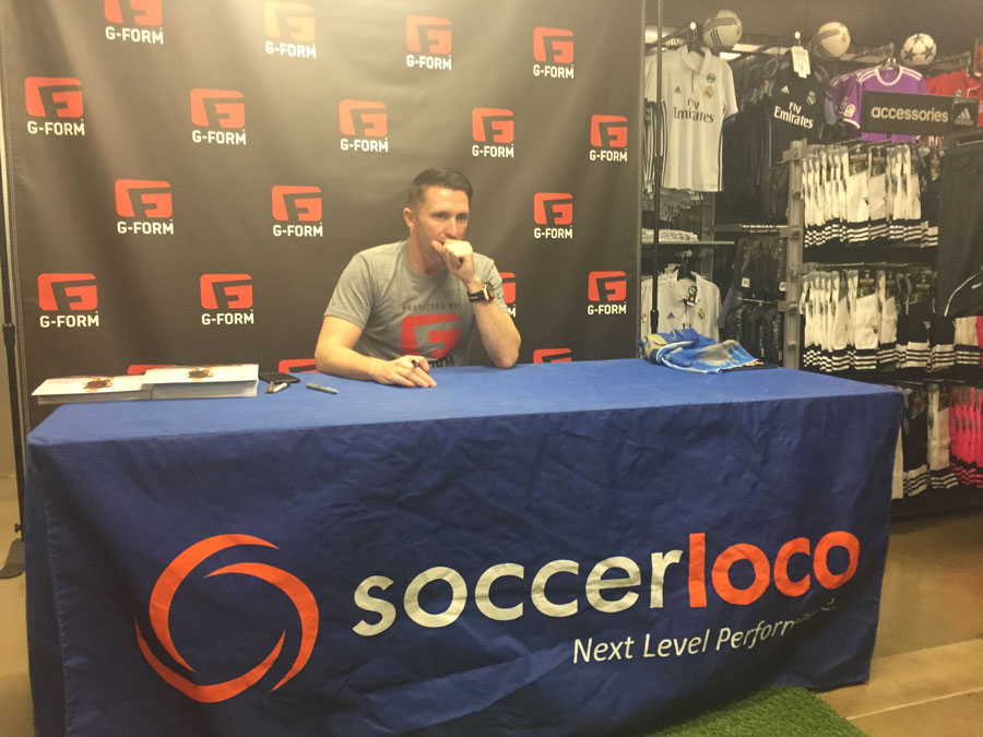 Robbie Keane Exclusive: Ireland Legend Visits soccerloco in San Diego