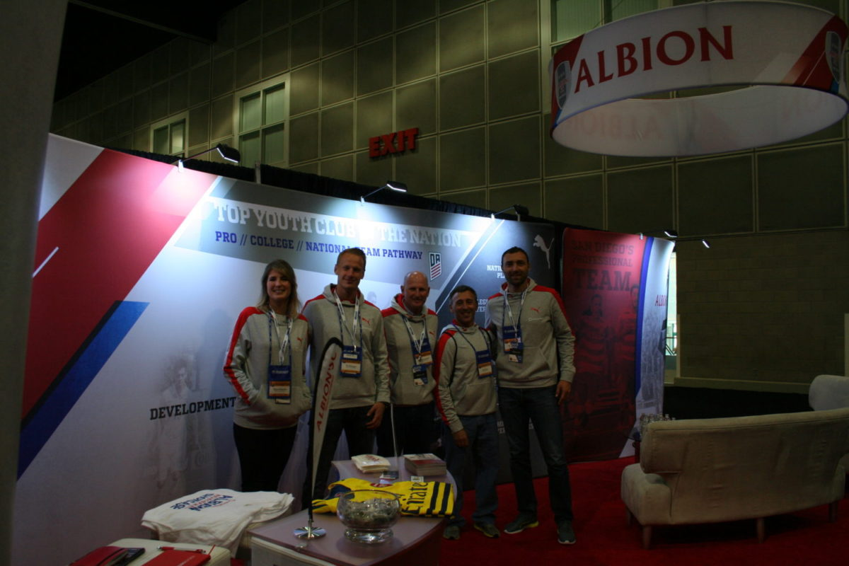 Albion Pros Launch Party at Primos in Mission Valley