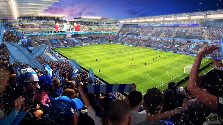 San Diego MLS Stadium Update
