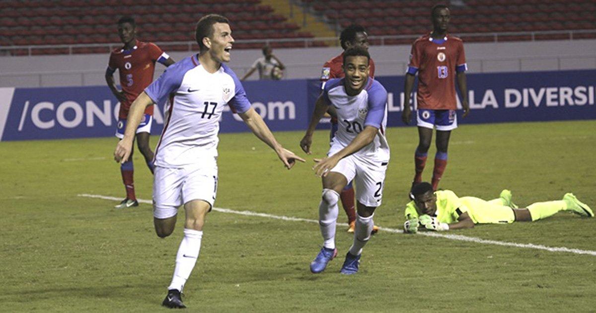 U.S. U-20 Defeat Haiti 4-1 In Second Match Of World Cup Qualifying