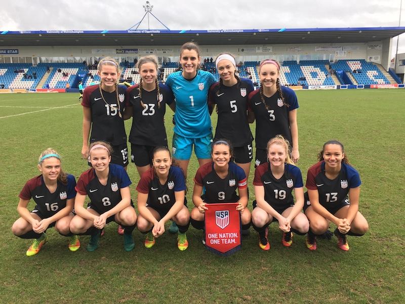 U.S. Soccer National Team Update: Two California Natives Named To U.S. U-17 MNT Roster; U-18 WNT Draws England To Finish International Trip