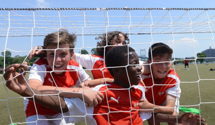 Arsenal Soccer Schools Return to the West Coast