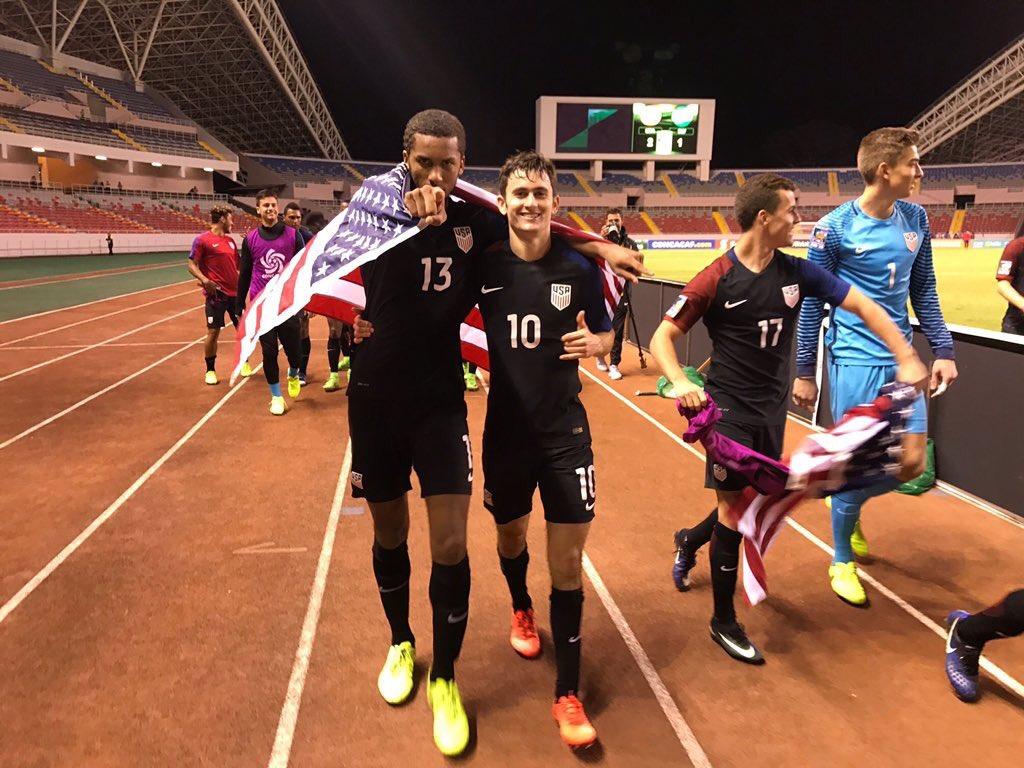 Former San Diego Surf SC Midfielder Luca De La Torre Converts Penalty To Help U.S. U-20 Win First CONCACAF U-20 Championship