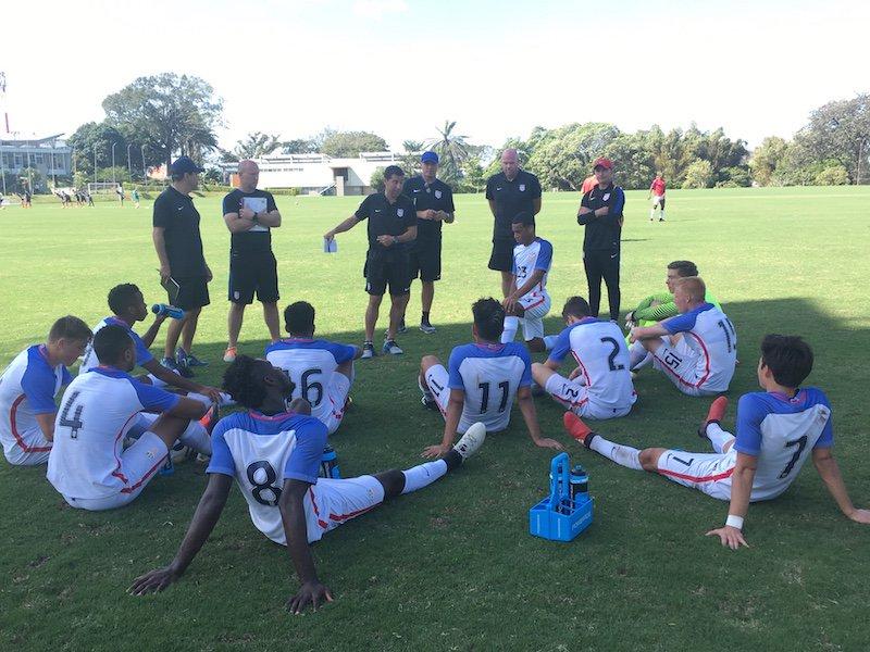 U.S. U-20 Drawn Into Group F For Upcoming 2017 FIFA U-20 World Cup