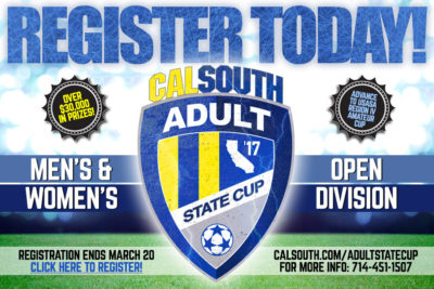 Cal South Adult State Cup Tournament