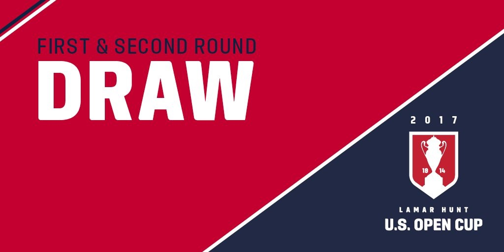Initial Draw Revealed for 2017 U.S. Open Cup