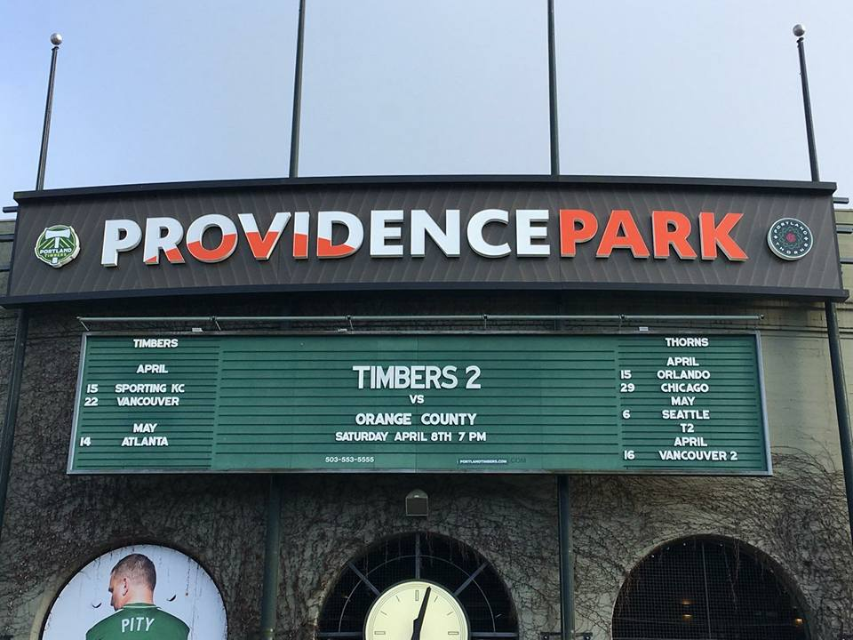 Orange County SC Continue Dominance over Portland Timbers 2 with Win