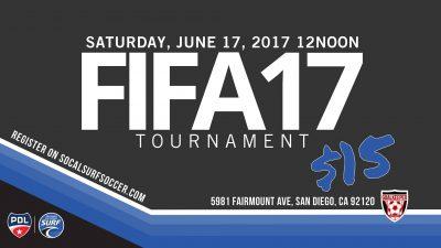 SoCal Surf Hosts FIFA17 Tournament