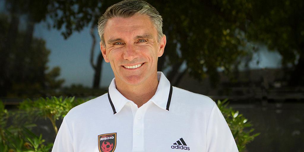 Phoenix Rising FC names Patrice Carteron to Head Coaching role