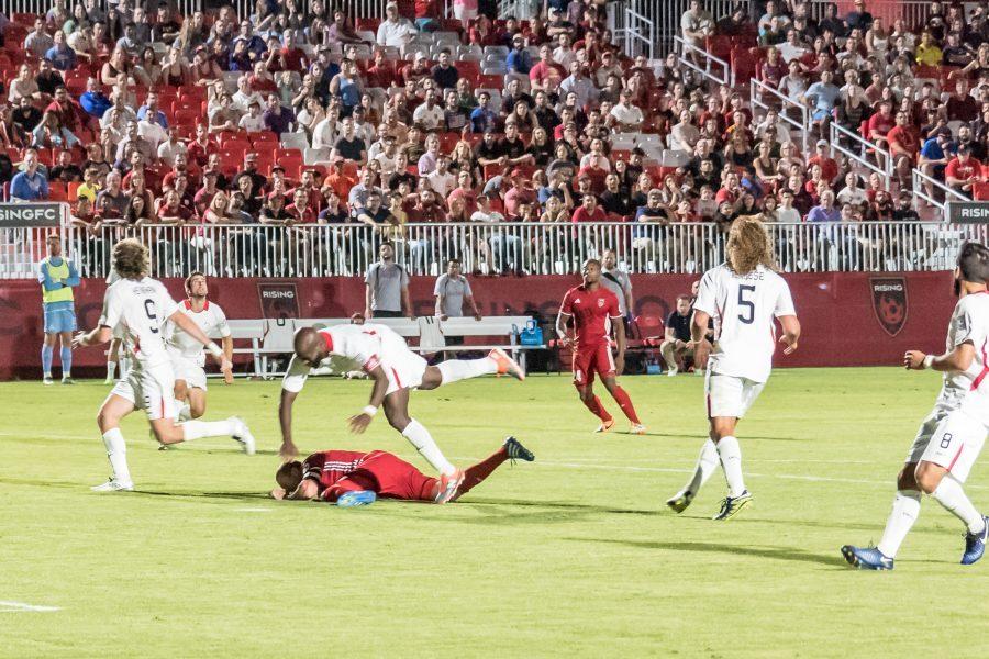 Phoenix Rising FC 1, SF Deltas 2 – Phoenix Cup Run Cut Short