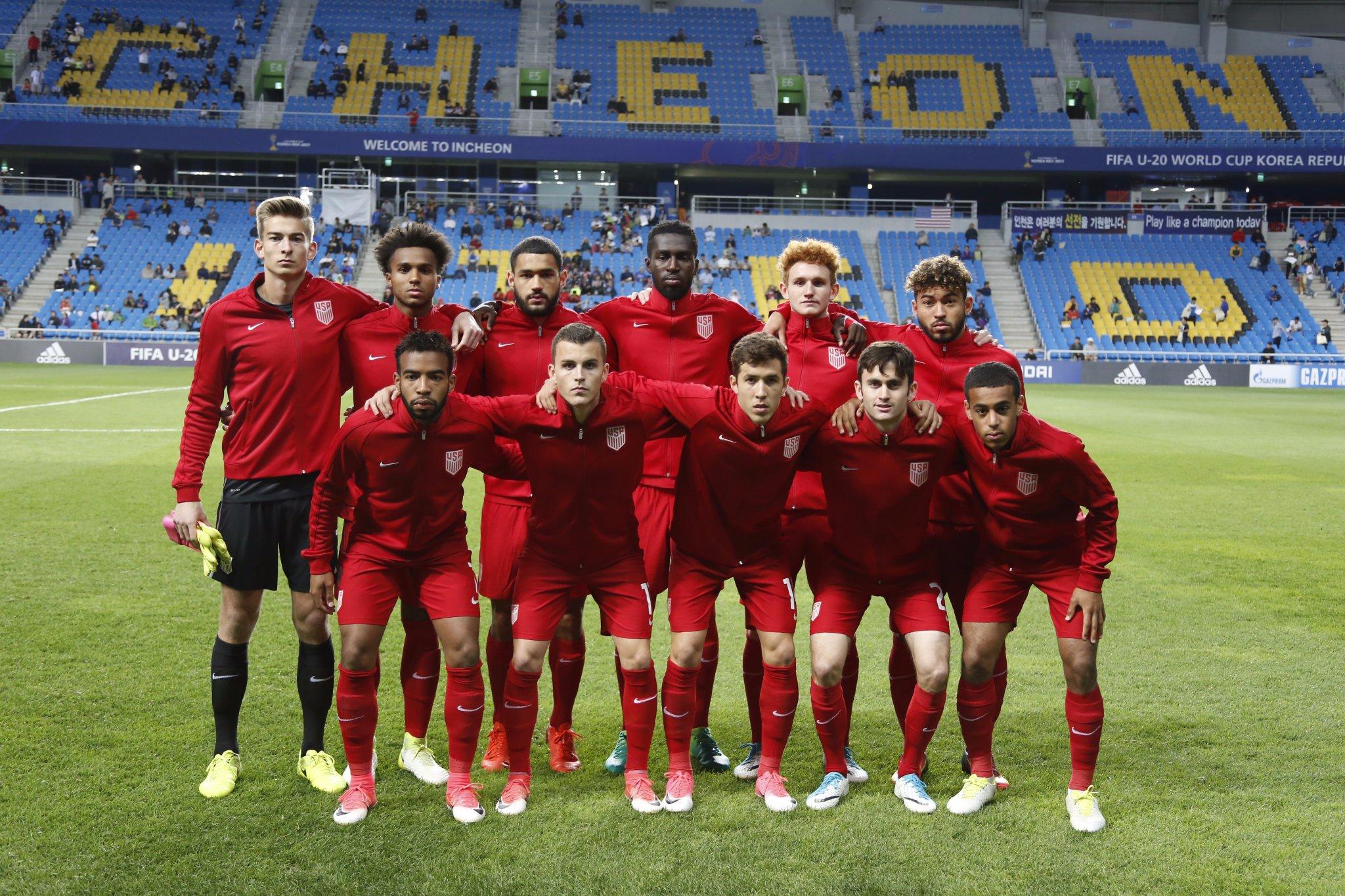 U.S. U-20 Defeat Senegal 1-0; Now Lead Group F