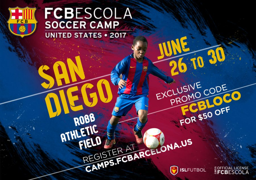 FC Barcelona Summer Camp in San Diego