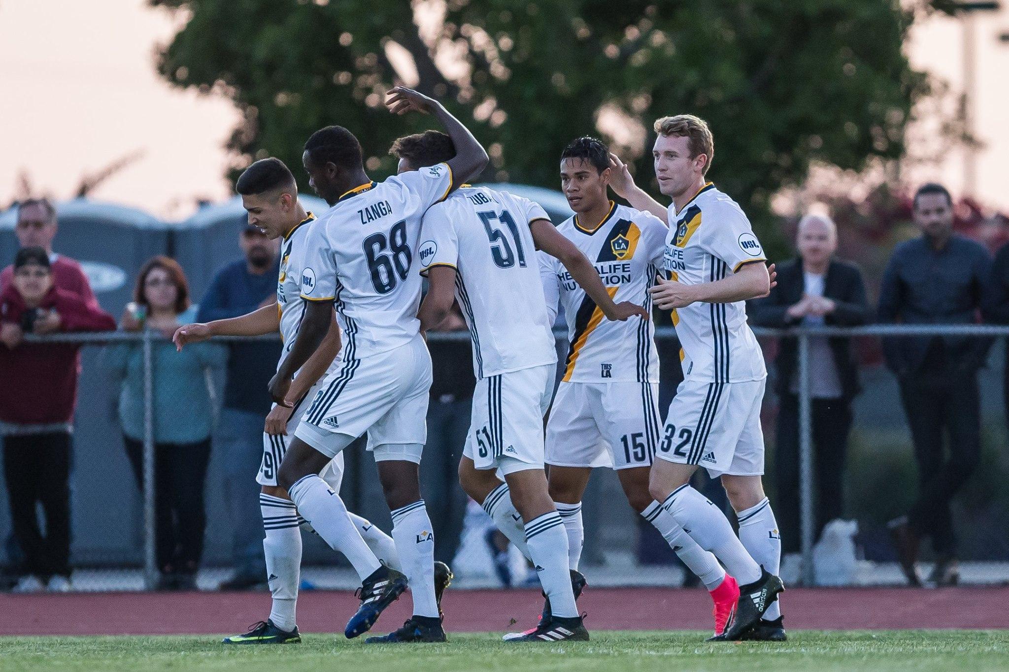 LA Galaxy II host Colorado Springs Switchbacks in league play