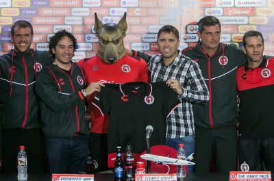 "Eduardo ""Chacho"" Coudet is presented as Club Tijuana's new head coach"
