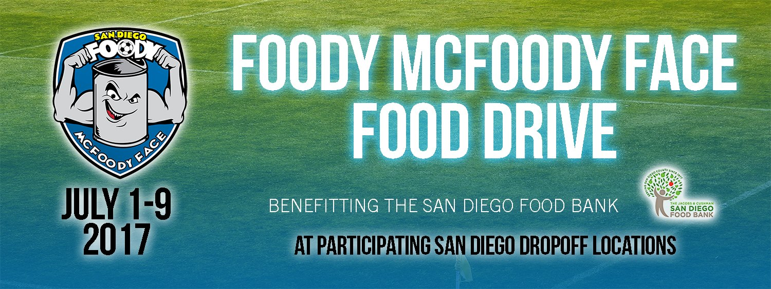 Foody McFoodyFace Food Drive Finishes Its Greens