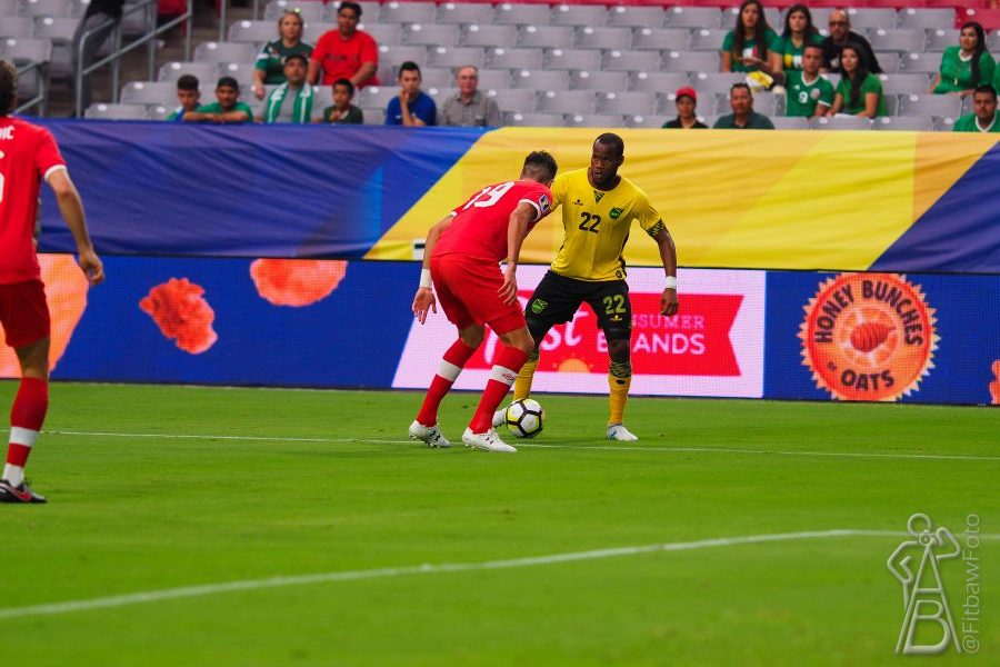 Williams Strike the Difference, as Jamaica Tops Canada 2-1