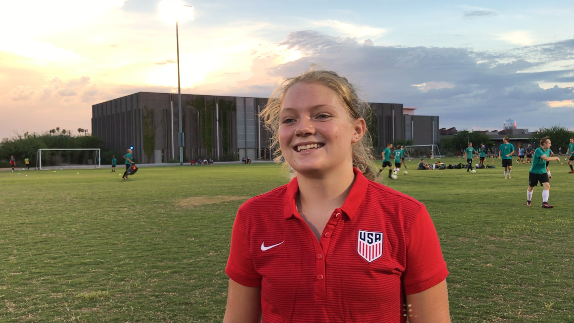 Arizona native Mollie Griswold Called Up To U-16 Girls' National Team