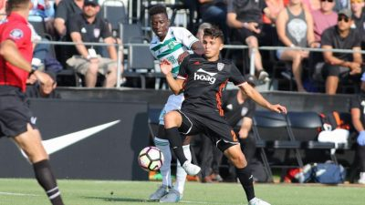 Orange County SC get last-minute draw, LA Galaxy II lose at home again