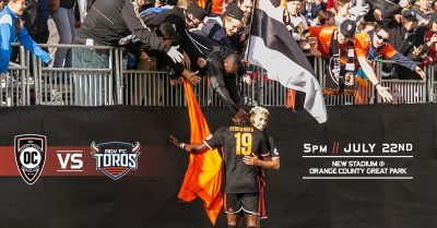 Orange County SC Host Return Leg vs. RGVFC, Announce Stadium Opening