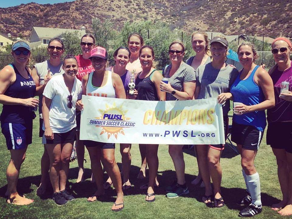 San Diego's Peninsula Women's Soccer League