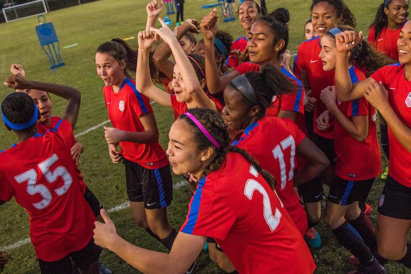 U.S. Soccer National Team Update: U-17 MNT and U-15/U-15 GNT To Hold Joint Camp