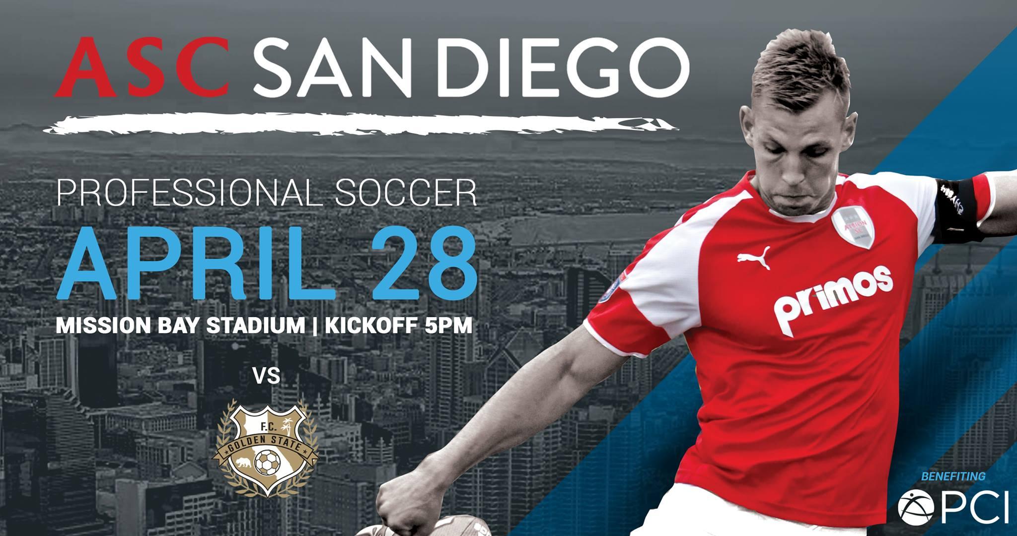 ASC San Diego Aim For Top Spot In NPSL Standings