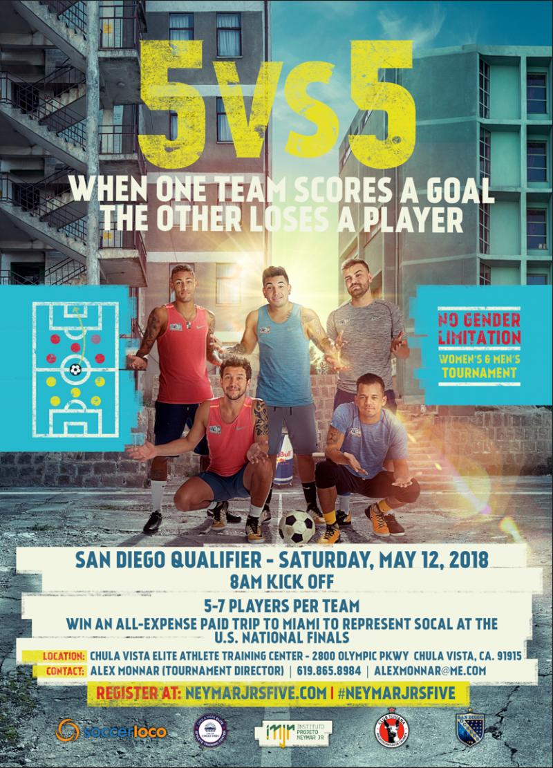 Neymar Jr's Five Global Soccer Tournament Returns For Third Edition