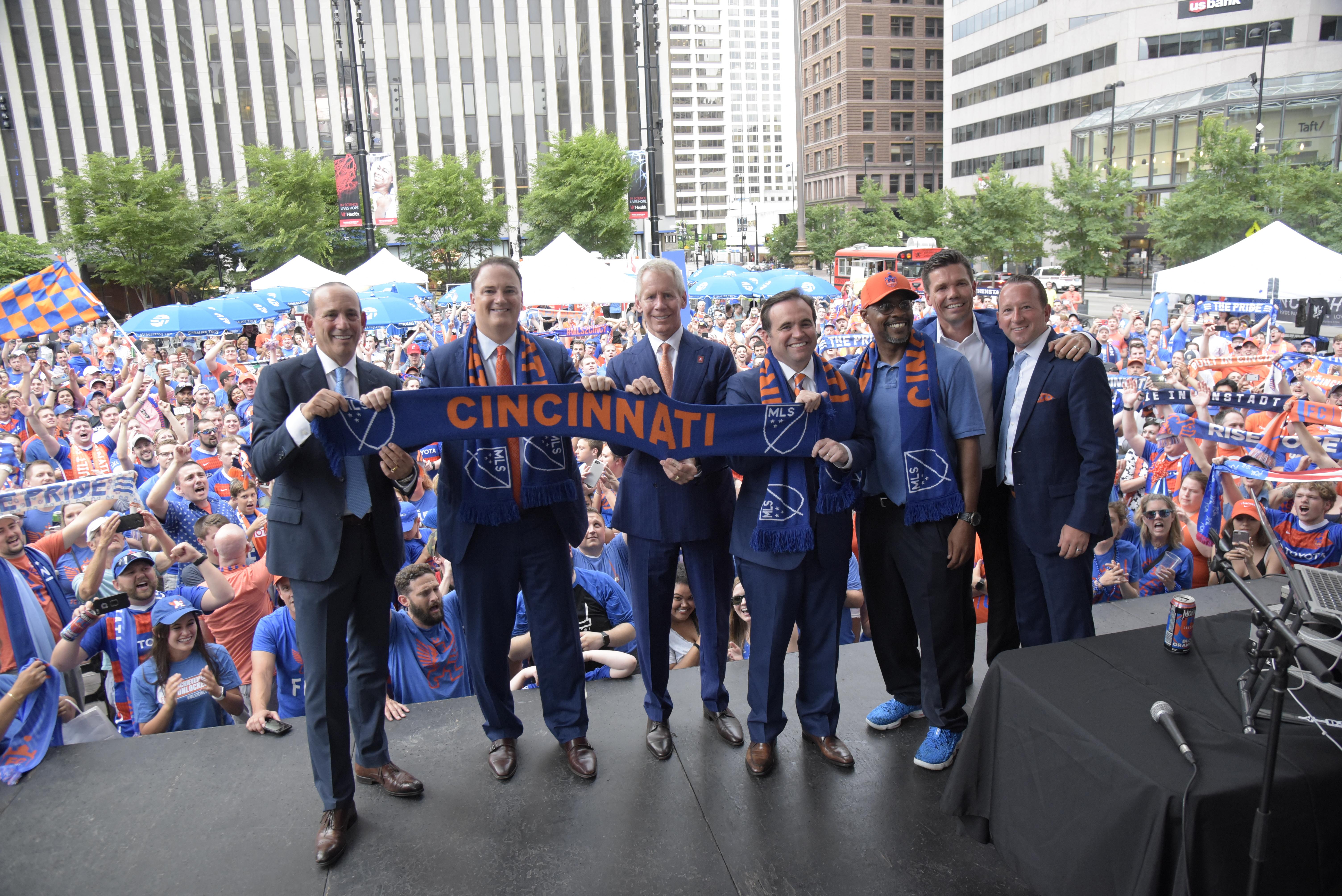 Cincinnati Selected as 26th Major League Soccer Franchise