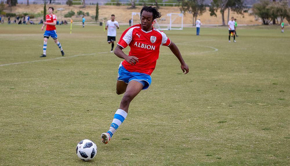 From Chemo to NCAA Soccer :: Darius Boamah, Albion San Diego