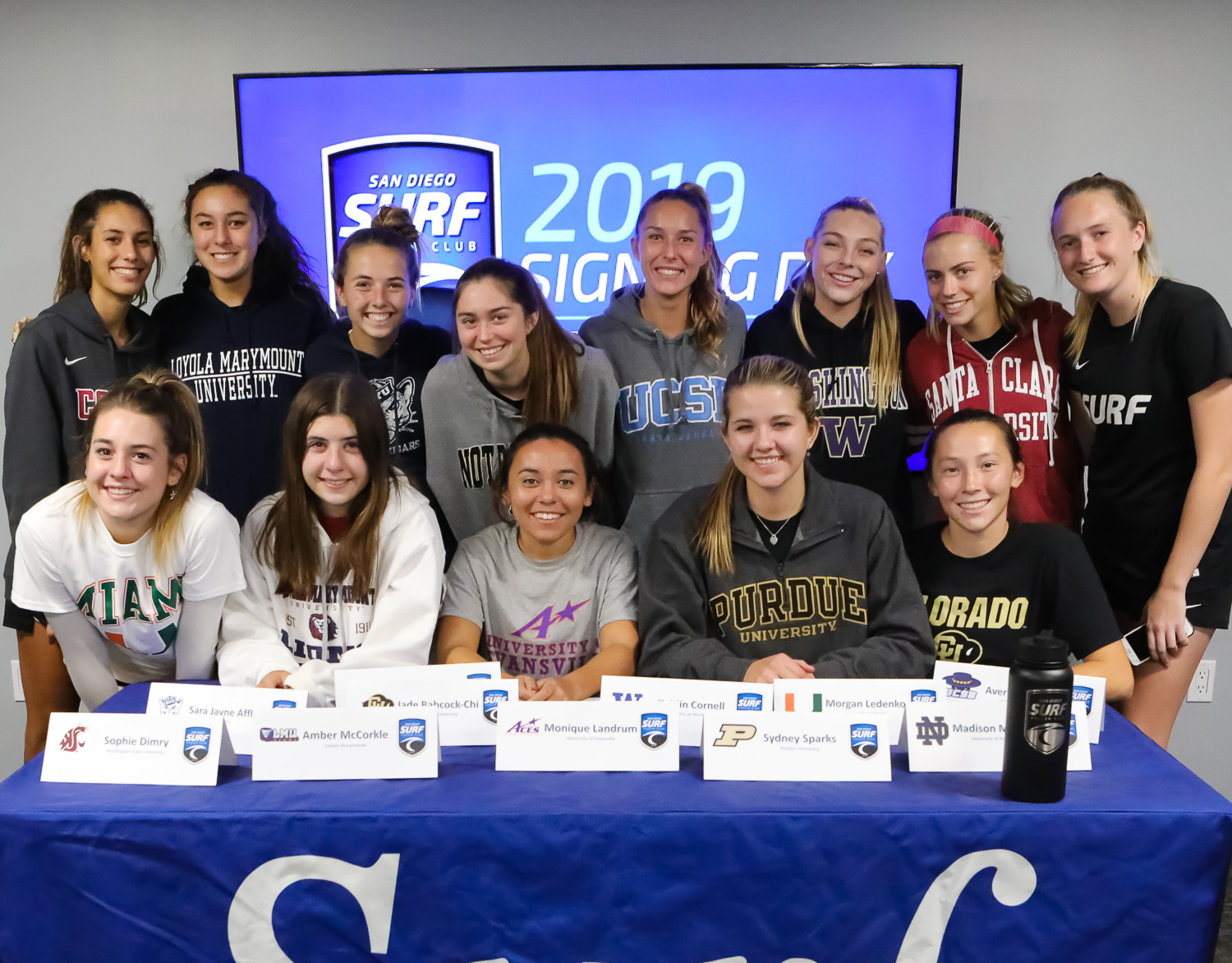 San Diego Surf's NLI Signing Day Ceremony