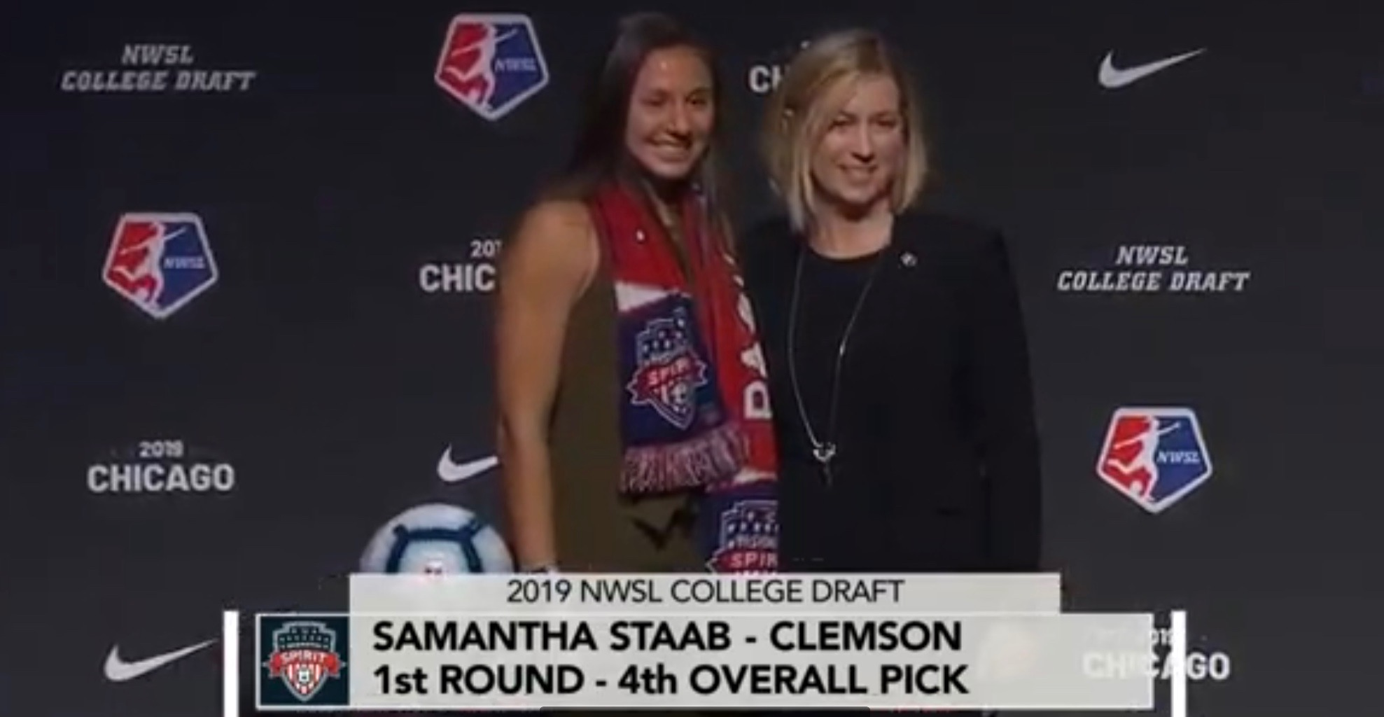 San Diego Homegrown Going Pro: Sam Staab drafted #4 in NWSL 2019 Draft