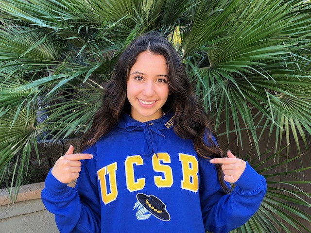 On National Girls and Women in Sports Day, Congrats to SDSC's Sophia Vivar